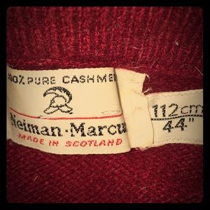 Classic red cashmere